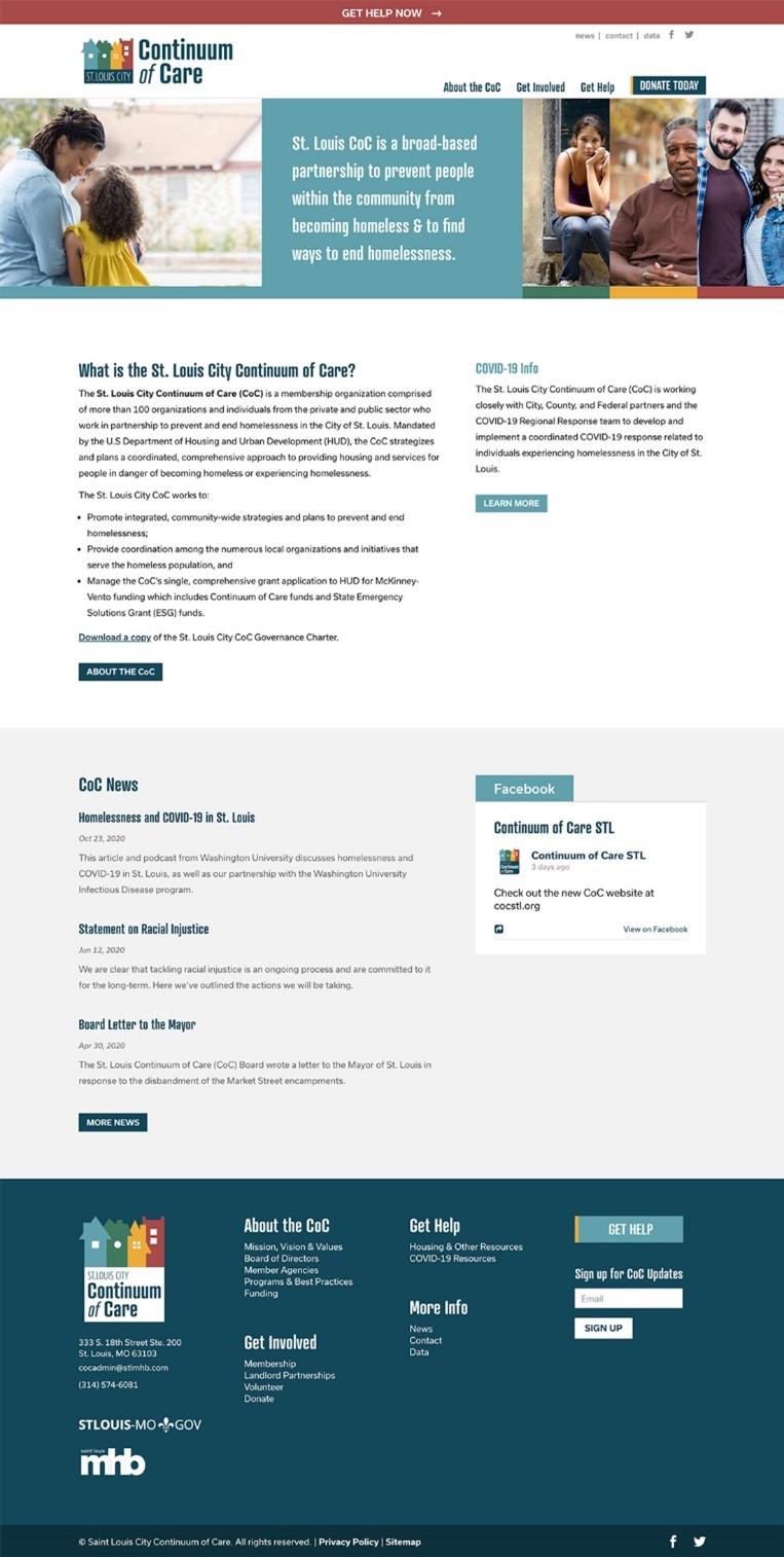 CoC Website Redesign