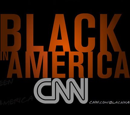 CNN Black in America Kiosk