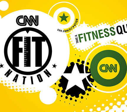 CNN Fit Nation Kiosk